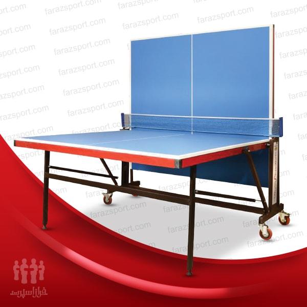 میز تنیس – پینگ پنگ چهارچرخ ملامینه فراز TT3