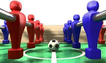 درباره قوانین مسابقات فوتبال دستی بدانیم